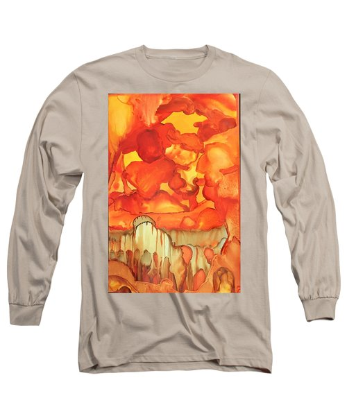 The Ball Of Fire Explodes Long Sleeve T-Shirt