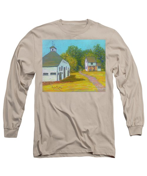 The Barn At Uniacke House  Long Sleeve T-Shirt by Rae  Smith