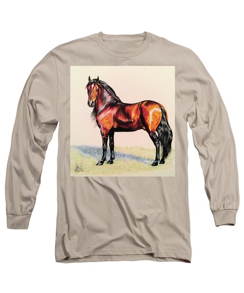 The Baroque Bay Long Sleeve T-Shirt by Cheryl Poland