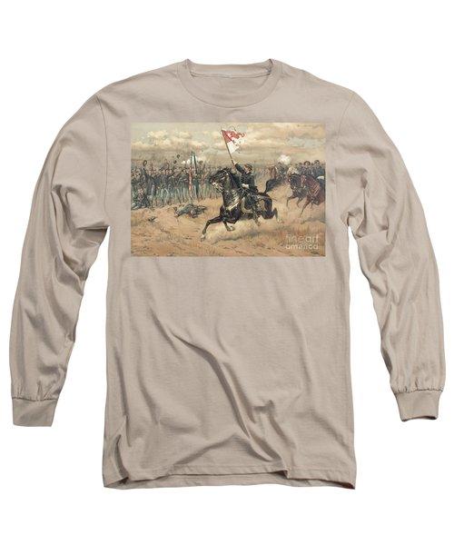 The Battle Of Cedar Creek Virginia Long Sleeve T-Shirt