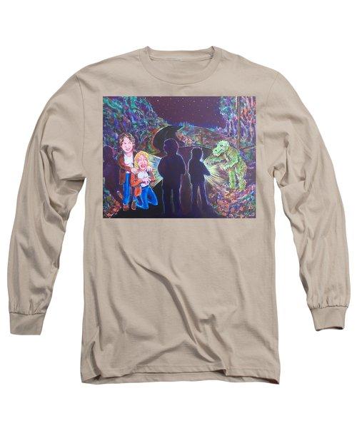The Bay Road Swamp Monster Long Sleeve T-Shirt