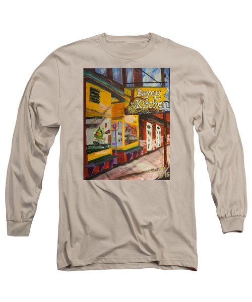 The Bayou Kitchen Long Sleeve T-Shirt