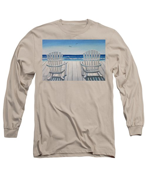 The Beach Chairs Long Sleeve T-Shirt