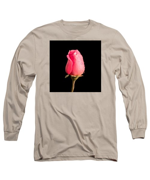 The Beauty Of A Rose Long Sleeve T-Shirt by Ed Clark