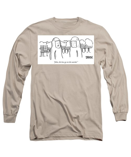 The Bees Go On The Outside Long Sleeve T-Shirt