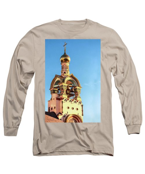 The Bell Tower Of The Temple Of Grand Duke Vladimir Long Sleeve T-Shirt