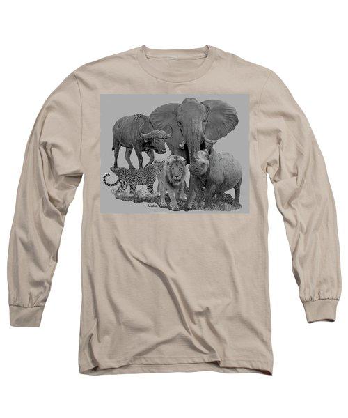 The Big Five Long Sleeve T-Shirt