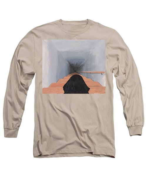 The Big Stairs Go Down Forever Long Sleeve T-Shirt