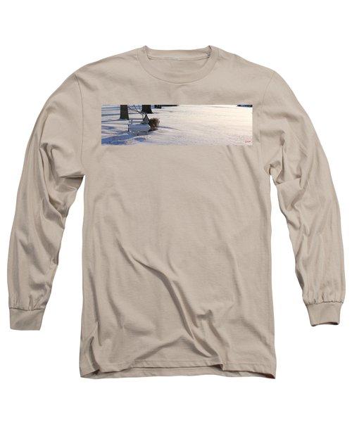 The Bird House Bench Long Sleeve T-Shirt