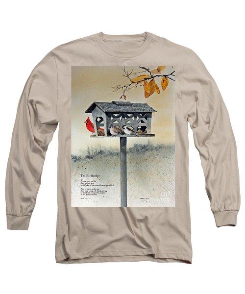 The Birdfeeder Long Sleeve T-Shirt