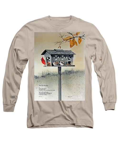 The Birdfeeder Long Sleeve T-Shirt