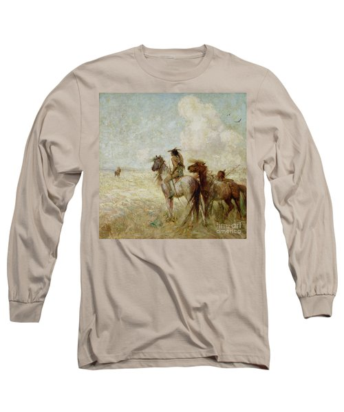 The Bison Hunters Long Sleeve T-Shirt