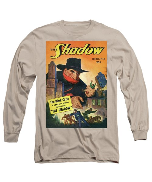 The Shadow The Black Circle Long Sleeve T-Shirt