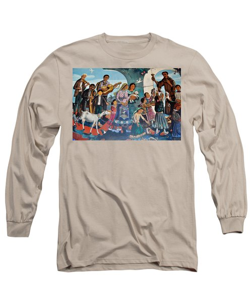The Blessing Of Animals Olvera Street Long Sleeve T-Shirt