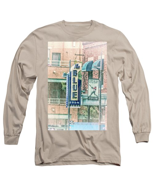 The Blue Room Long Sleeve T-Shirt by Pamela Williams
