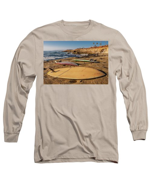 The Boards Long Sleeve T-Shirt by Peter Tellone