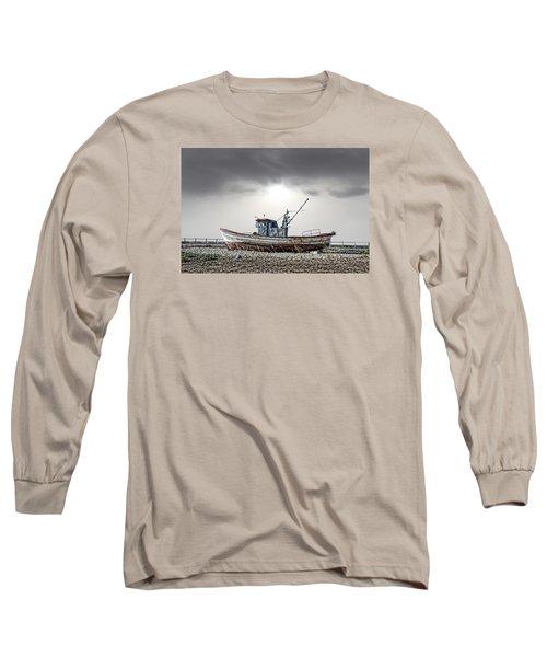 The Boat Long Sleeve T-Shirt by Angel Jesus De la Fuente