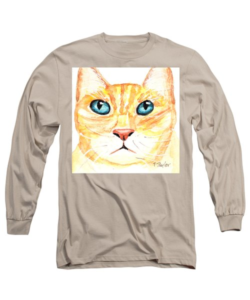 Long Sleeve T-Shirt featuring the painting The Boss by Terry Taylor
