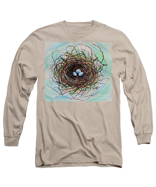 The Botanical Bird Nest Long Sleeve T-Shirt
