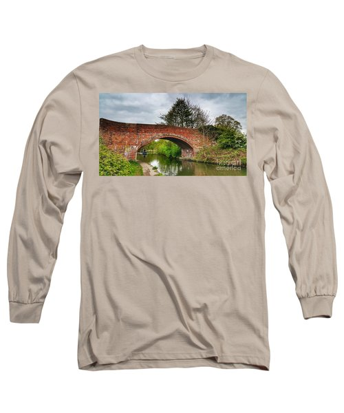 Long Sleeve T-Shirt featuring the photograph The Bridge by Isabella F Abbie Shores FRSA