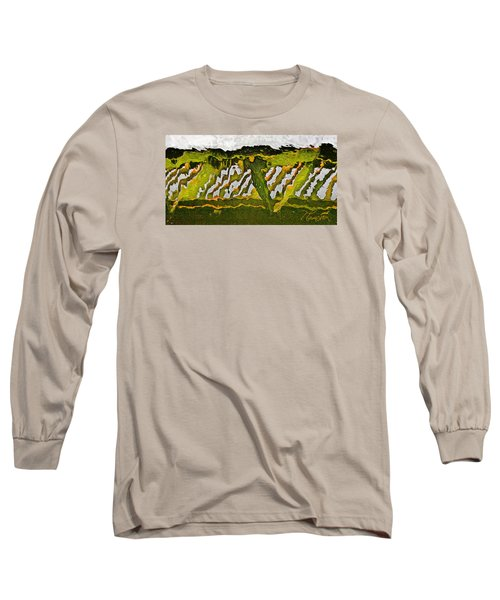 The Bridge - Me To You Long Sleeve T-Shirt by Tom Cameron