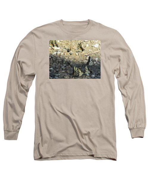 The Butterfly Dance Long Sleeve T-Shirt by Charlotte Gray