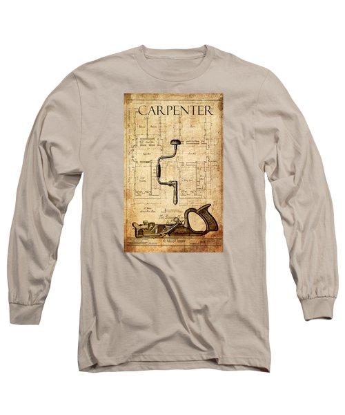 The Carpenter Long Sleeve T-Shirt by Greg Sharpe
