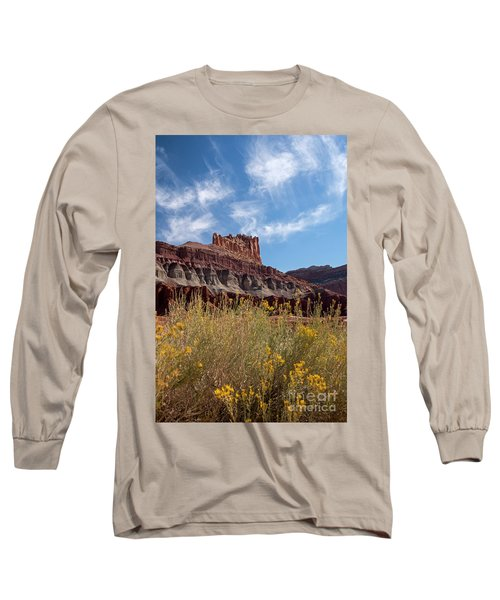 Rock Formation Capital Reef Long Sleeve T-Shirt