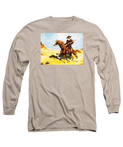 The Cavalry Scout Long Sleeve T-Shirt by Al Brown