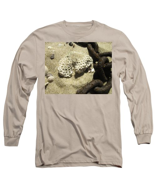 The Chain And The Fossil Long Sleeve T-Shirt