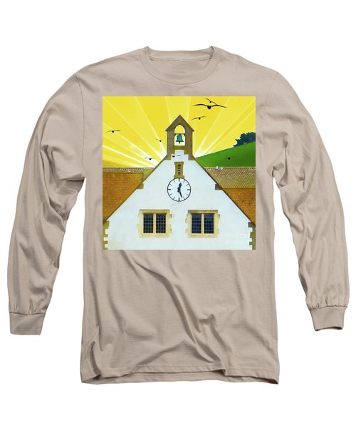 Long Sleeve T-Shirt featuring the photograph The Church Bell by LemonArt Photography