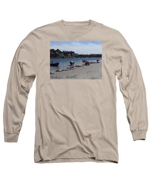 The Clam Diggers - Annisquam River  Long Sleeve T-Shirt