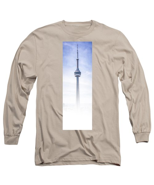 Long Sleeve T-Shirt featuring the photograph The Cn Tower by Anthony Rego
