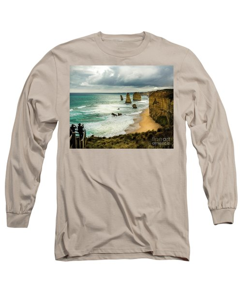 Long Sleeve T-Shirt featuring the photograph The Coast by Perry Webster