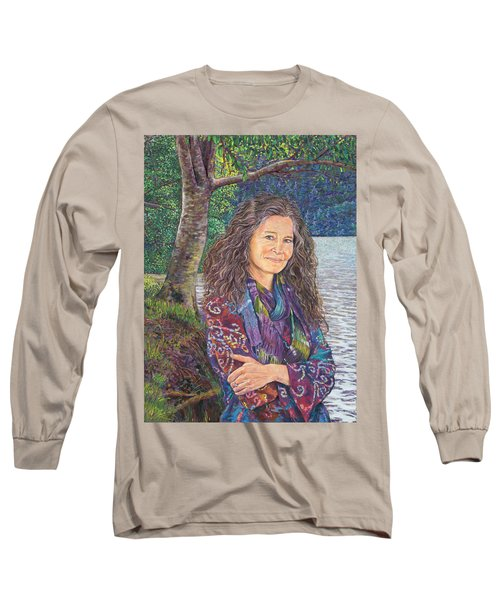 The Color Violet Long Sleeve T-Shirt