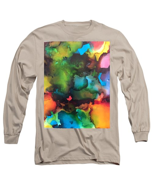The Color Wheel Long Sleeve T-Shirt