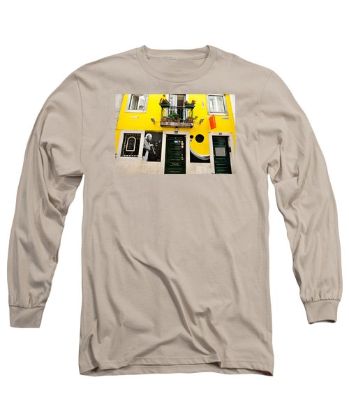 Long Sleeve T-Shirt featuring the photograph The Colorful Bar by Marwan Khoury