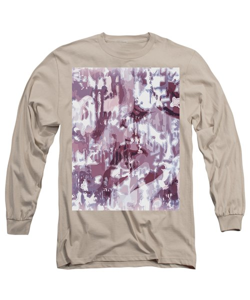 The Colors Of Love Long Sleeve T-Shirt by Moustafa Al Hatter