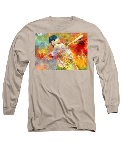 The Commerce Comet Long Sleeve T-Shirt by Mal Bray