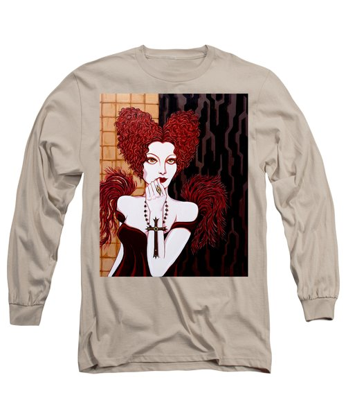 The Confession Long Sleeve T-Shirt by Tara Hutton
