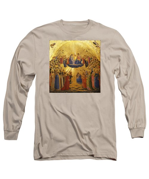 The Coronation Of The Virgin Long Sleeve T-Shirt