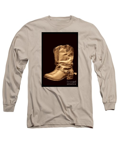 The Cowboy Boots Long Sleeve T-Shirt