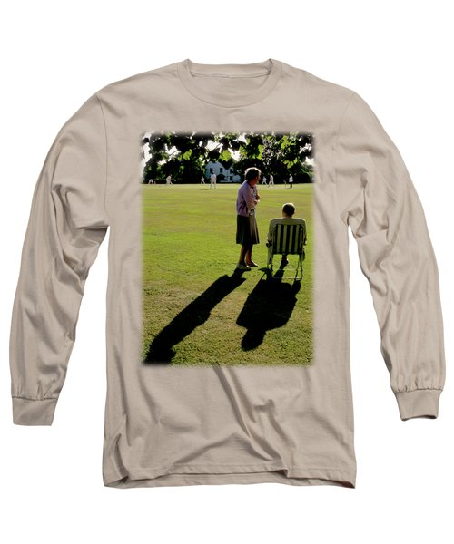 The Cricket Match Long Sleeve T-Shirt by Jon Delorme