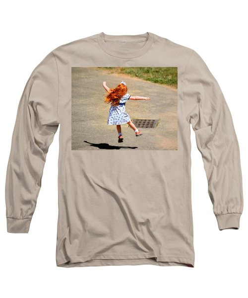 A Little Expression Long Sleeve T-Shirt by Gary Smith