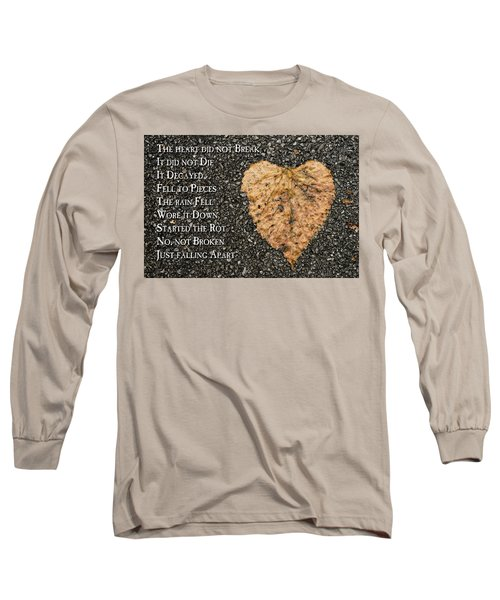 The Decay Of Heart Long Sleeve T-Shirt