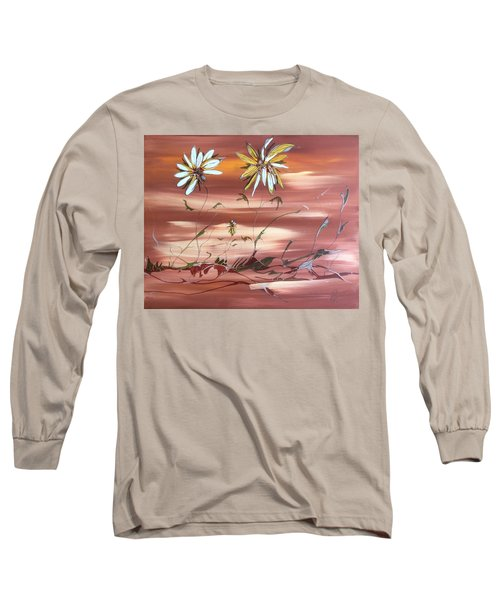 The Desert Garden Long Sleeve T-Shirt by Pat Purdy