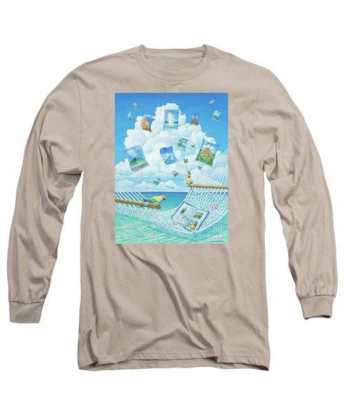The Destinations Of A Dream Long Sleeve T-Shirt