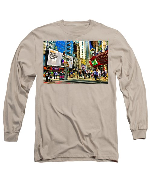 The Dirty Old City -nyc Long Sleeve T-Shirt
