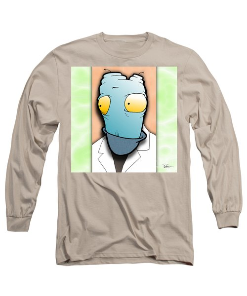 The Doctor Long Sleeve T-Shirt by Uncle J's Monsters