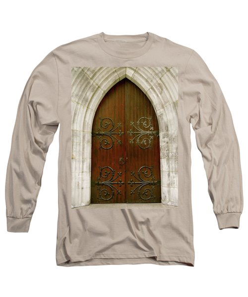 The Door Of Opportunity Long Sleeve T-Shirt
